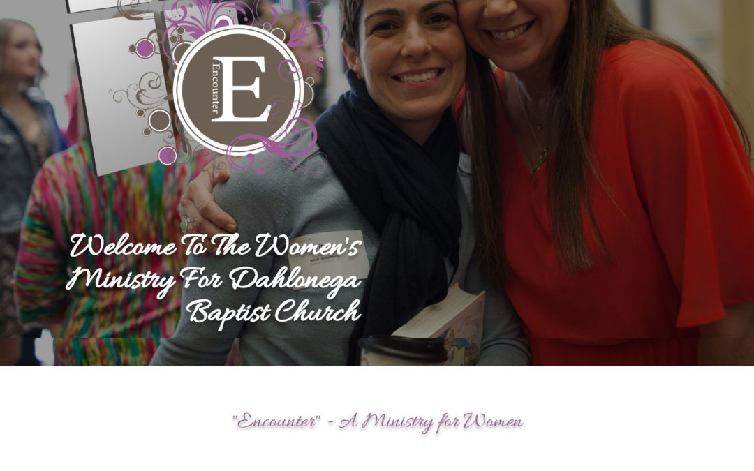 The Dahlonega Baptist Church Women's Ministry Has A New Website